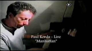 Paul Korda - Manhattan (In the Living Room Live)