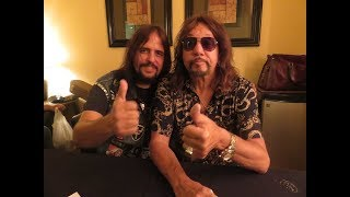 Meeting Ace Frehley and review of the Melbourne and Hollywood Florida Shows