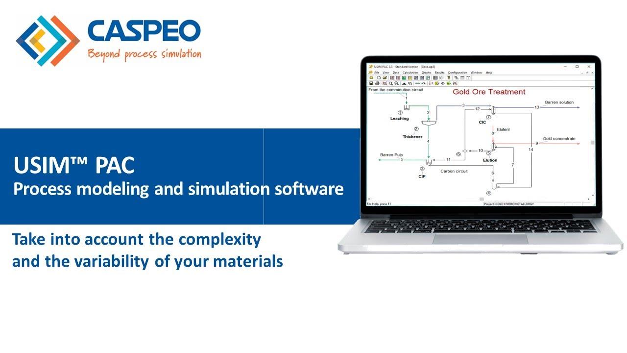 Usim Pac Process Modeling And Simulation Software Caspeo