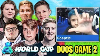 Mongraal DESTROYS Duo After Take the L in Real Life! (Fortnite World Cup Duos Finals - Game 2)