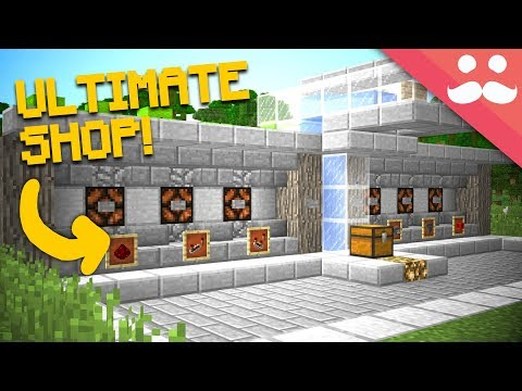 I Build The ULTIMATE SHOP In Minecraft 1.13!