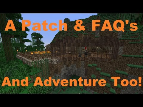 Minecraft Weekly News: Patch 1.5.1, Realms FAQ & Adventure!
