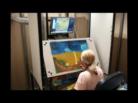Loving Vincent -  Painting Timelapse