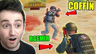 COFFİN'E KARŞI OYNADIK EFSANE MAÇ - PUBG Mobile Gameplay