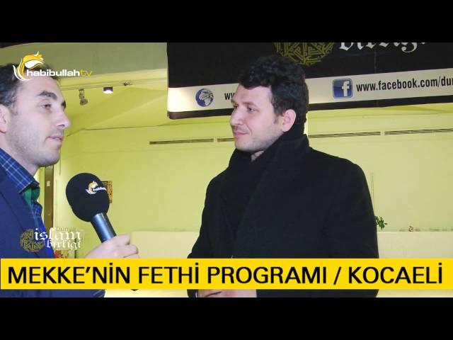 Mekke'nin Fethi Programı Röportajlar Ali İhsan Hor