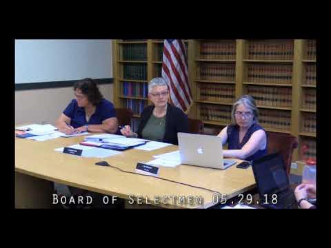 Board of Selectmen 05.29.18