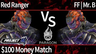 Paragon PM - Red Ranger (Ganon) vs FF | Mr. B (Ganon) - $100 Money Match