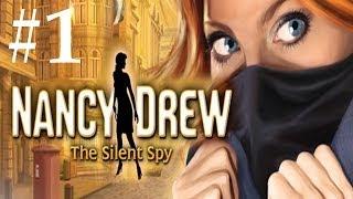 Nancy Drew: The Silent Spy Walkthrough part 1