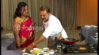 Podhigai TV Theneer Neram Chicken Poriyal