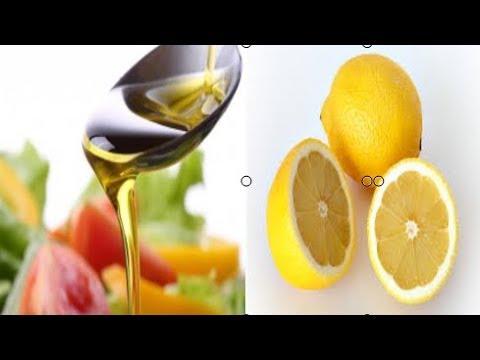 Günde Sadece 1 Yemek Kaşığı Zeytinyağı ve Limonun Etkilerine İnanamayacaksınız