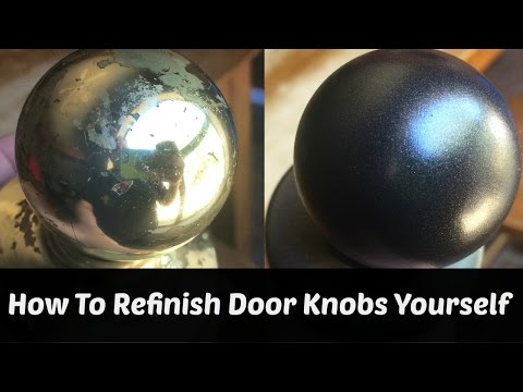 How To Refinish Brass Hardware Yourself