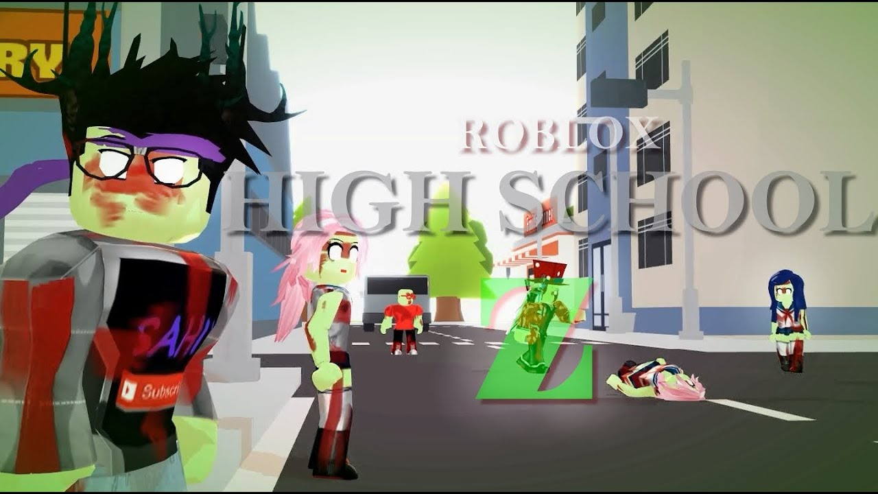 ROBLOX HIGH SCHOOL Z roblox animation