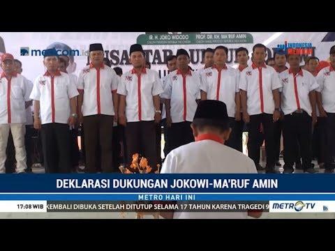 Ratusan Relawan Jokowi-Ma'ruf Di Sumatera Utara Gelar Deklarasi Mp3