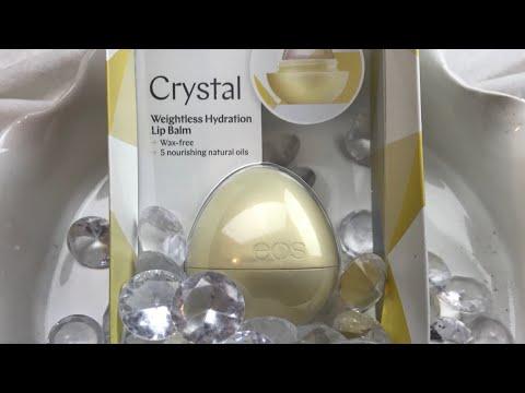 😍 CRYSTAL EOS LIP BALM REVIEW- VANILLA ORCHID