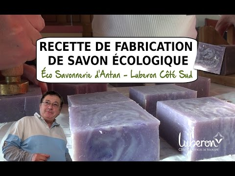 Fabrication de Savon écologique par l'Éco Savonnerie d'Antan à Meyrargues - Par Luberon Côté Sud