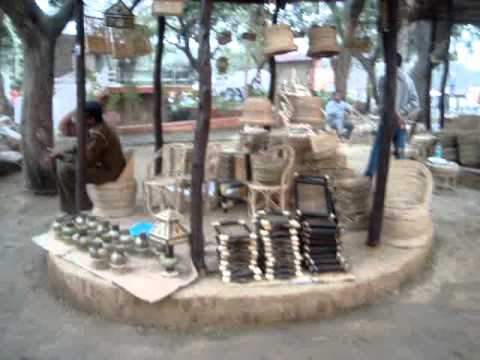 Surajkund Mela, Faridabad, Suraj Kund Craft Fair 2012 - Indian Fair Travel & Tour Video