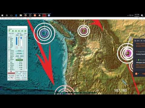 1/19/2017 -- Nightly Earthquake Update + Forecast -- Large M6.8 strikes + Italy rupture explained
