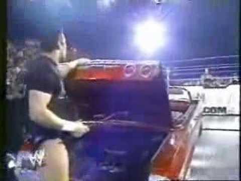 randy orton tries to kill the undertaker - YouTube