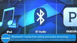 JVC KW-V220BT Display and Controls Demo | Crutchfield Video