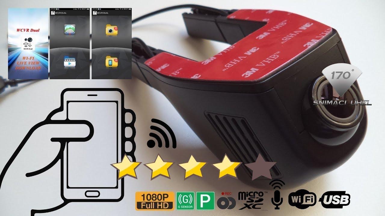 1080p hidden wifi car dvr vehicle video recorder dash cam [ 1280 x 720 Pixel ]