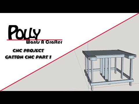 Gatton CNC Table Build Part 1