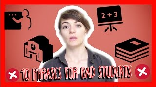 Learn the Top 10 French Phrases for Bad Students