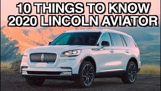 10 Things About: 2020 Lincoln Aviator on Everyman Driver
