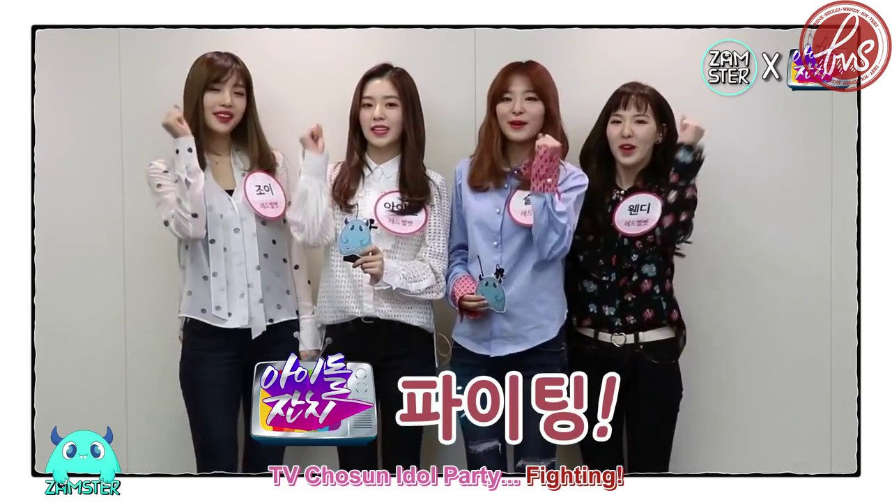 [ForVelvetSubs] 161226 TV Chosun Idol Party: 'Ice Cream' with Red Velvet -  Red Velvet (eng)