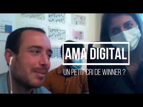 Silver économie : Interview flash d'AMA DIGITAL juste après l'annonce des Lauréats des Trophées