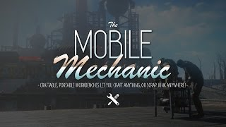 The Mobile Mechanic - Portable Crafting Mod Review for Fallout 4