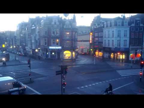 Time-lapse Muntplein Amsterdam
