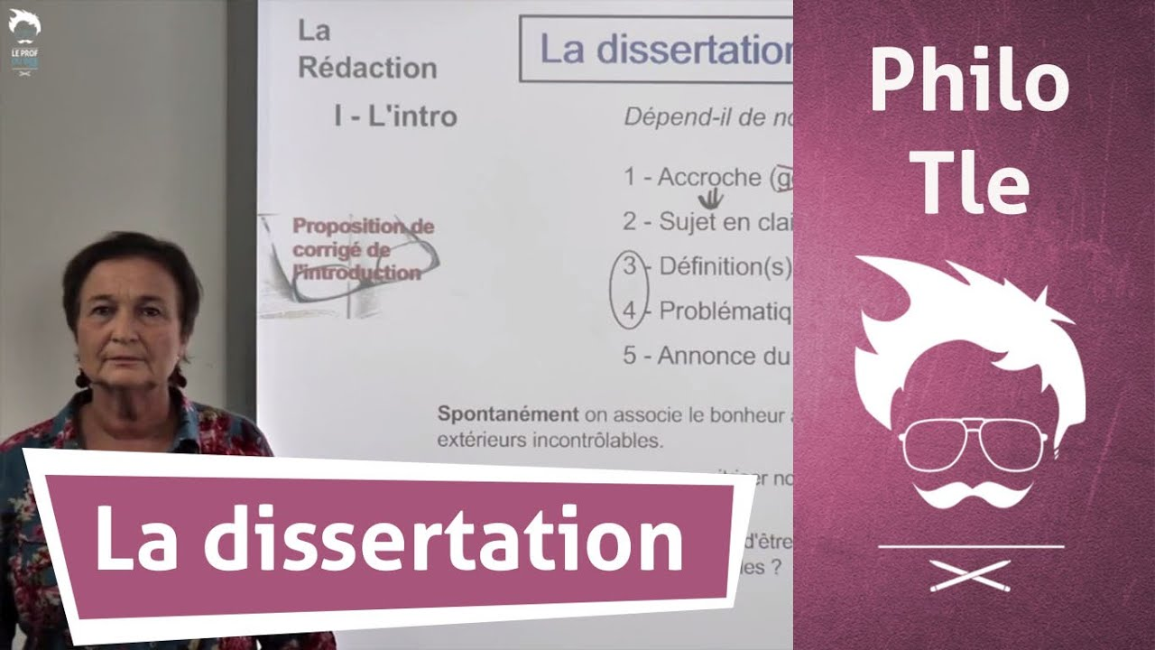 Comment faire dissertation philosophie terminale s