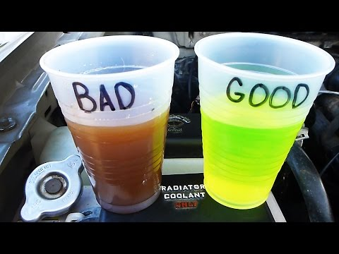 How To Check And Test Your Coolant/Antifreeze