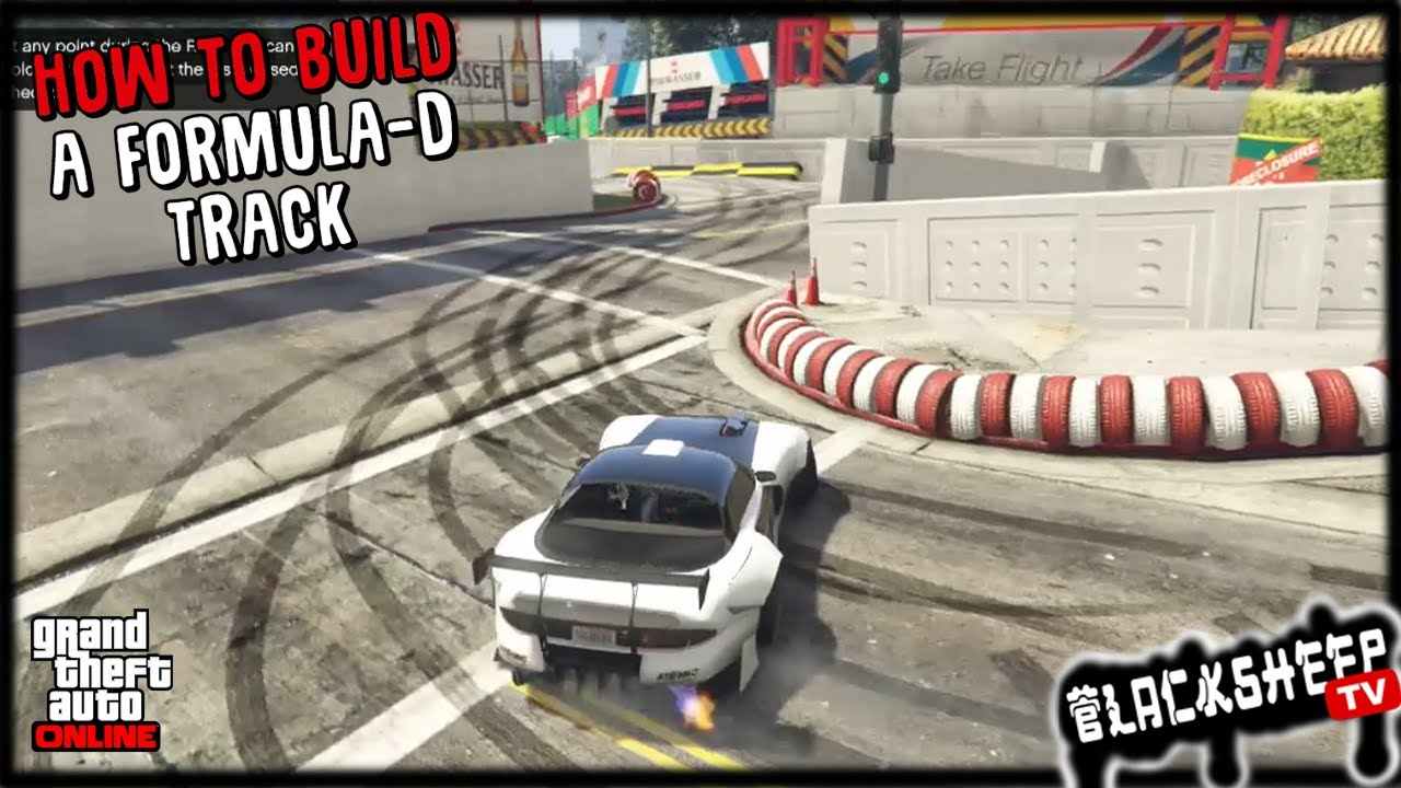 GTA 5 - How To Build A Professional Drift Track - Advanced Rockstar Creator  Techniques