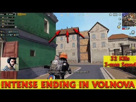 PUBG MOBILE VIKENDI | epic last zone movement in downtown