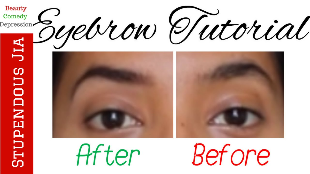 Eyebrow Tutorial For Beginners No Hair Removal Pluckingtweezing