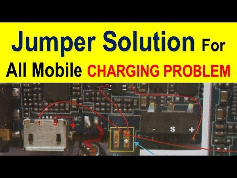 Jumper solution for charging problem in all type of mobile phone