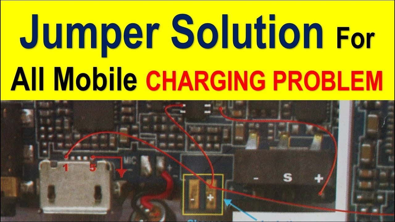 Jumper solution for charging problem in all type of mobile phone | mobile  jumper solution hindi ,|