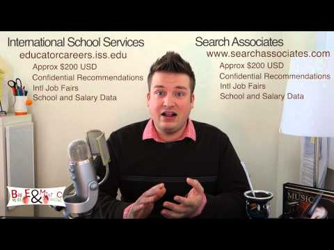 How to get an International School Teaching Job - Part 2 - Where to find jobs?
