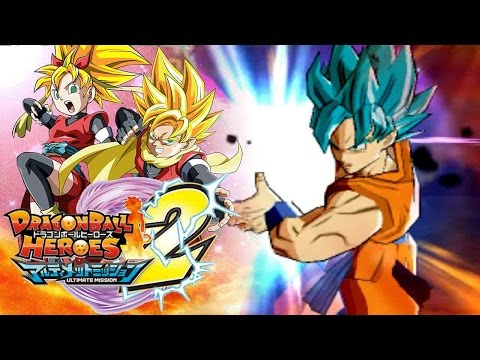 I JUST CAN'T BEAT SUPER SAIYAN BLUE GOKU... | Dragon Ball Heroes Ultimate Mission 2 Gameplay!