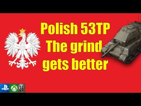 53TP is quite playable - World of Tanks Console thumbnail