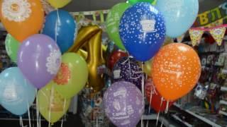 видео - гелиевые шары С РИСУНКОМ