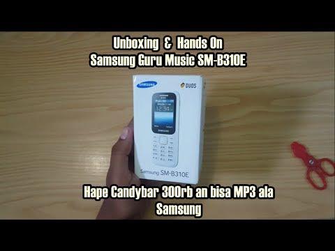Unboxing dan Hands On - Samsung Guru Music SM-B310E