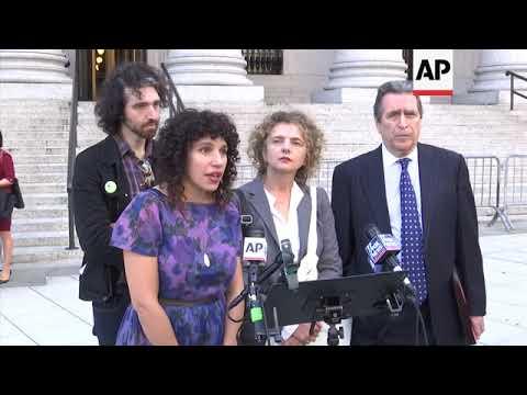 Group sues to block US emergency alert test