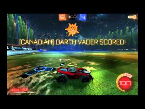 Rocket League Messing around, SECRET MUSIC and BACKGROUND
