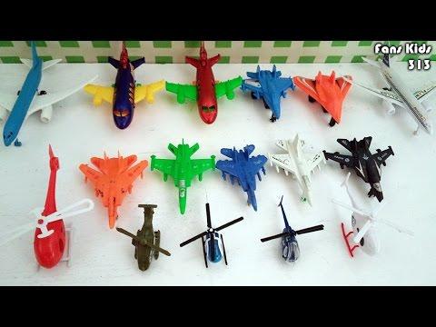 Koleksi Mainan Pesawat Terbang, Helikopter dan Pesawat Tempur