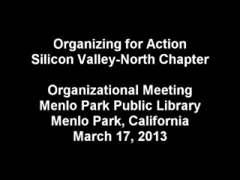 OFA organizational meeting audio