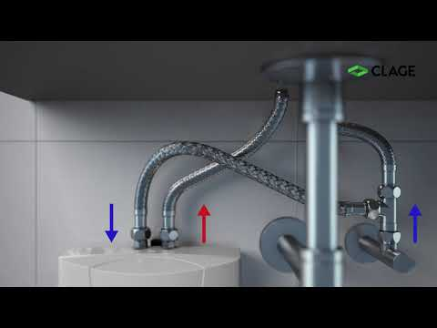 MBH – Installation und Montage des E-Kleindurchlauferhitzers (druckfest und drucklos) am Waschbecken