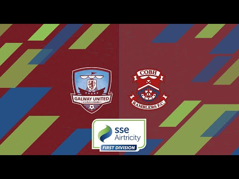 HIGHLIGHTS | Galway United 2-0 Cobh Ramblers