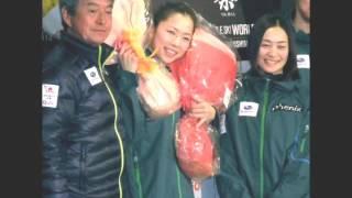 引退する里谷多英、愛子のメッセージに涙 里谷多英 検索動画 15
